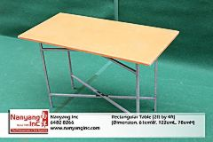 Rectangular Table (2ft by 4ft) (Dimension.jpg