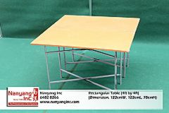 Rectangular Table (4ft by 4ft) (Dimension.jpg