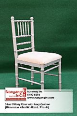 Silver Tiffany Chair with Ivory Cushion (Dimension-1.jpg